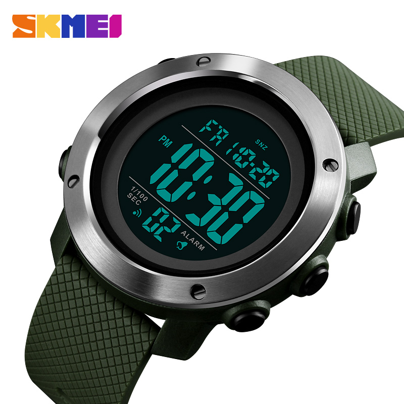 SKMEI Fashion Men Sport Watches Relogio Masculino Luxury Men's Digital Waterproof Wristwatches Montre Homme LED Military Clock