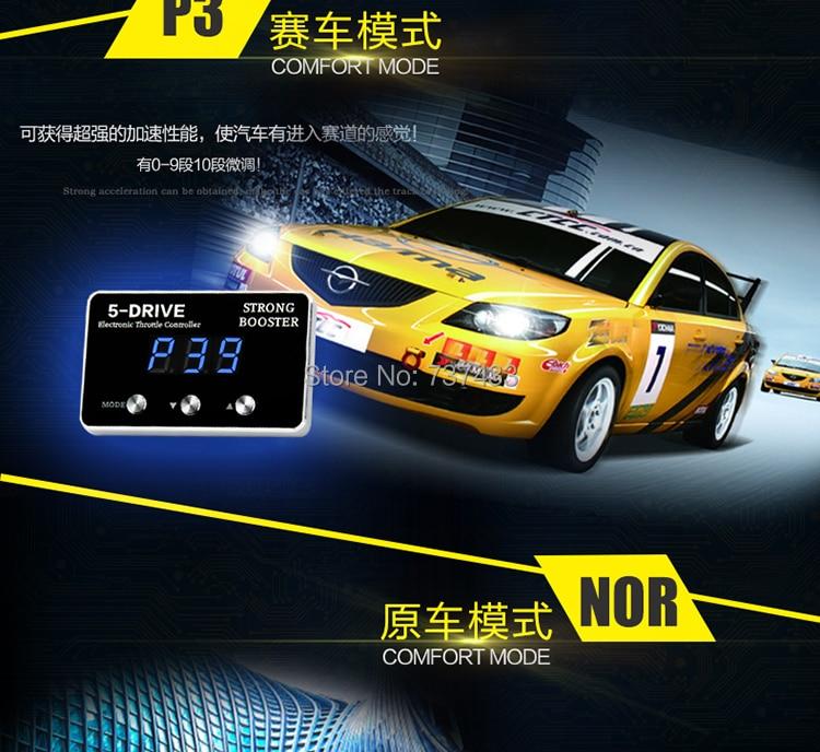 Autostyringskontrol Sprint Booster mode-knap intelligent switch plus - Bilreservedele - Foto 5