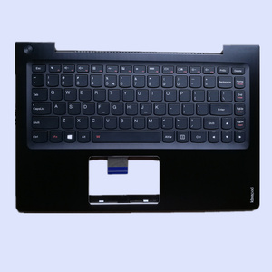 Brand NEW Original Replace black and silver laptop palmrest upper cover with US Version Keyboard For Lenovo U330 U330T U330P
