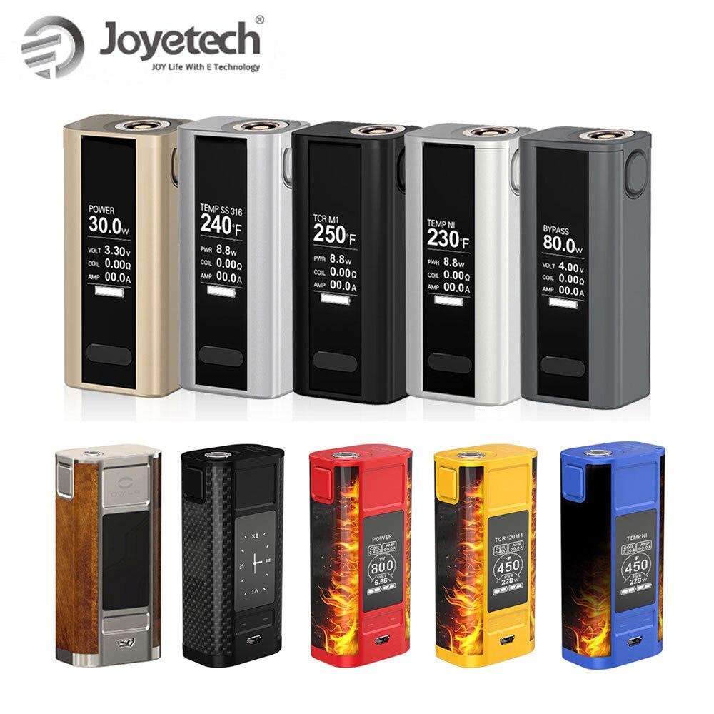Original Joyetech Cuboid Mini Battery 80W 2400mah Built-in Battery VS Cuboid Tap 228W 18650 Battery Mod Electronic Cigarette Mod