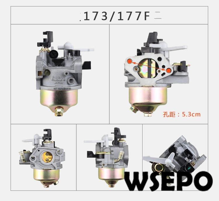 Chongqing Quality! Carburetor/Carb fits for 173F/GX240/GX270/177F 240cc~270CC 04 Air Cooled Stroke Gasoline Engines стоимость