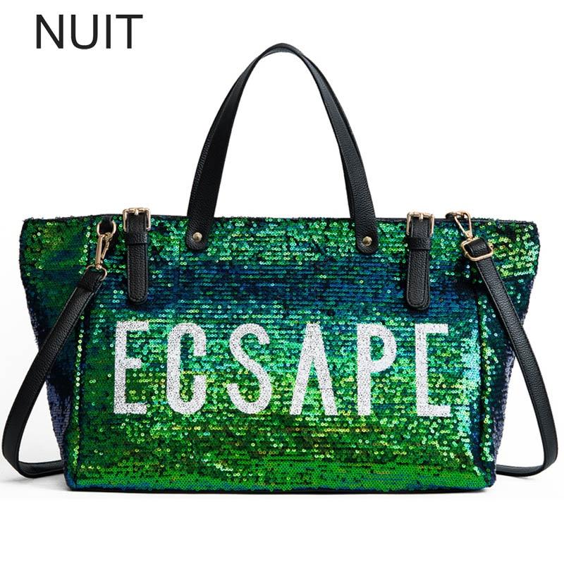 Fashionable Bright Women Bag Female Handbag Large Capacity Letter Tote Bag pu Leather Shoulder Bag Luxury Lady Hand Bag