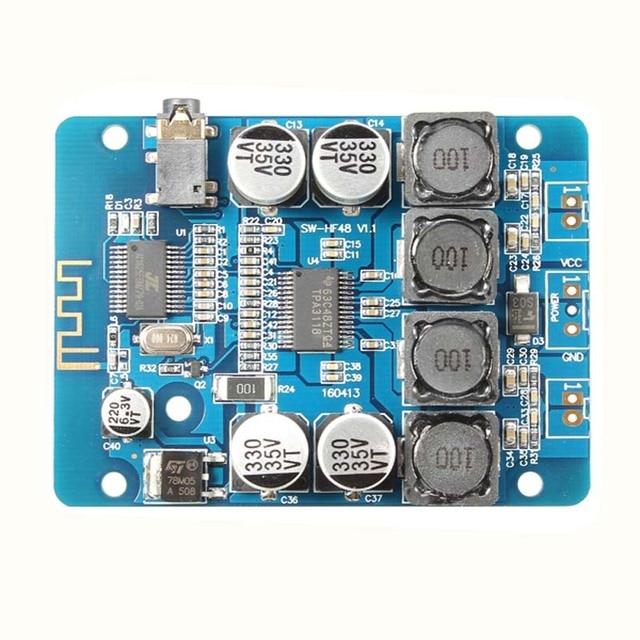 TPA3118 2x30W Bluetooth Digital power Amplifier Board Stereo amplificador audio 8-26V DC H2-001