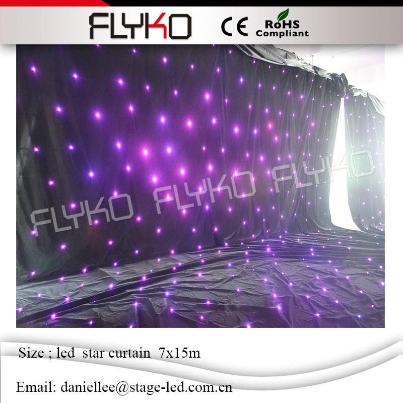 LED star curtain 643