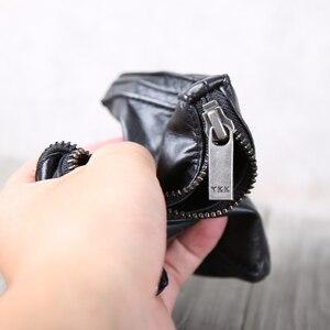 Image 3 - AETOO portefeuille en cuir fait à la main, couche de tête horizontale en cuir de vache