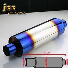 Jzz akrapovic выхлопных труб высококачественной нержавеющей глушитель для автомобиля автомобильной глушитель для автомобилей Turbo Sound разгрузки движения