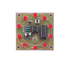 DIY Kits Electronic Lucky Rotary Module Wheel Turntable Fortune Analog Lottery T