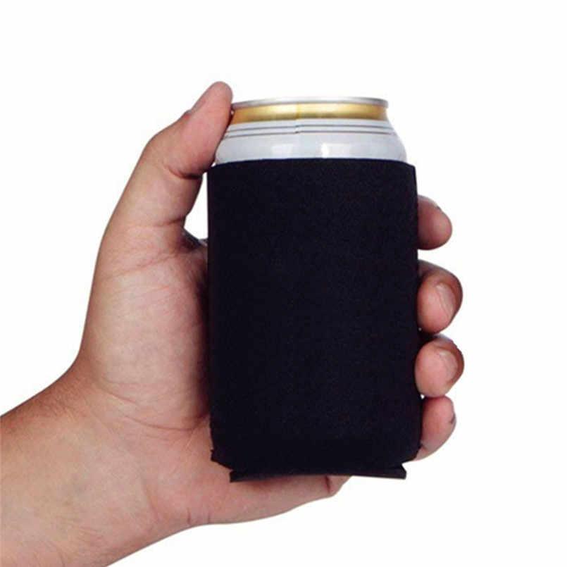 Tampa de garrafa de Neoprene Manga Copo de Cerveja da Bebida Do Partido Em Branco Pode Coolers Soda Coolies Mangas Conjuntos de Copo Thermocoolers 40MY28