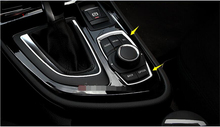 Yimaautotrims Multimedia Switch Buttons Decoration Cover Trim Fit For BMW 2-Series Active Tourer 2015 2016 2017 218i 220i 228i