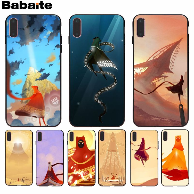 Babaite Journey Lovely Novelty Fundas Phone Case Cover For Iphone 8 7 6 6s Plus 5 5s Se Xr X Xs Max Coque Shell Nourishing The Kidneys Relieving Rheumatism Cellphones & Telecommunications Phone Bags & Cases
