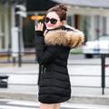 Снег одежда куртки ватные женский осенью и зимой куртка женщин тонкий хлопок-ватник верхняя одежда зимнее пальто женщин размер S-3XL