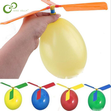Toy Helicopter Inflatable-Toys Outdoor Balloon Playing Educational Kids 5pcs GYH Funny