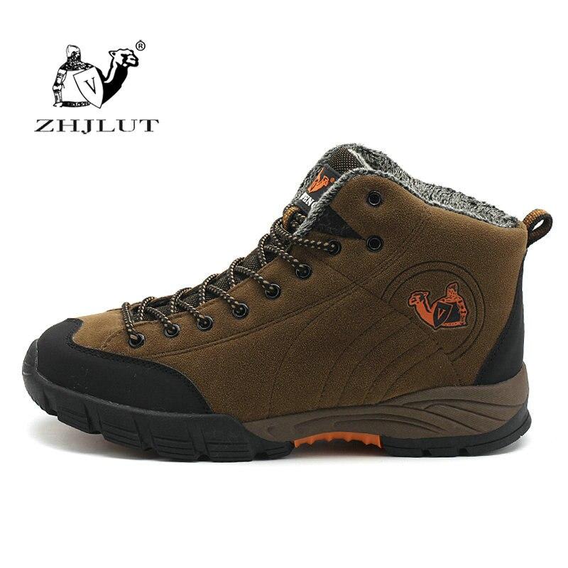 ZHJLUT Men Women Hiking Shoes Sports Waterproof Winter Men Shoes Breathable Climbing Outdoor Trekking Shoes Men