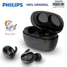 Yeni Philips kablosuz kulaklık SHB2505 HIFI gürültü iptal kulak Bluetooth 5.0 otomatik anahtar fonksiyonu Stereo Binaural çağrı