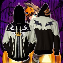 Kingdom Hearts Game Cosplay Anime Hoodie Men Women Costume Sweatshirts 2019 New