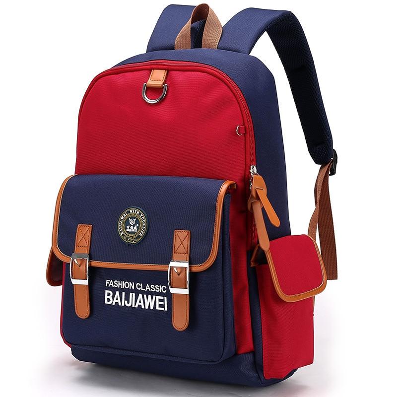 New Children School Bags For Girls Boys Kids Backpack In Primary School Backpacks Mochila Infantil Zip Book Bag Student Satchel