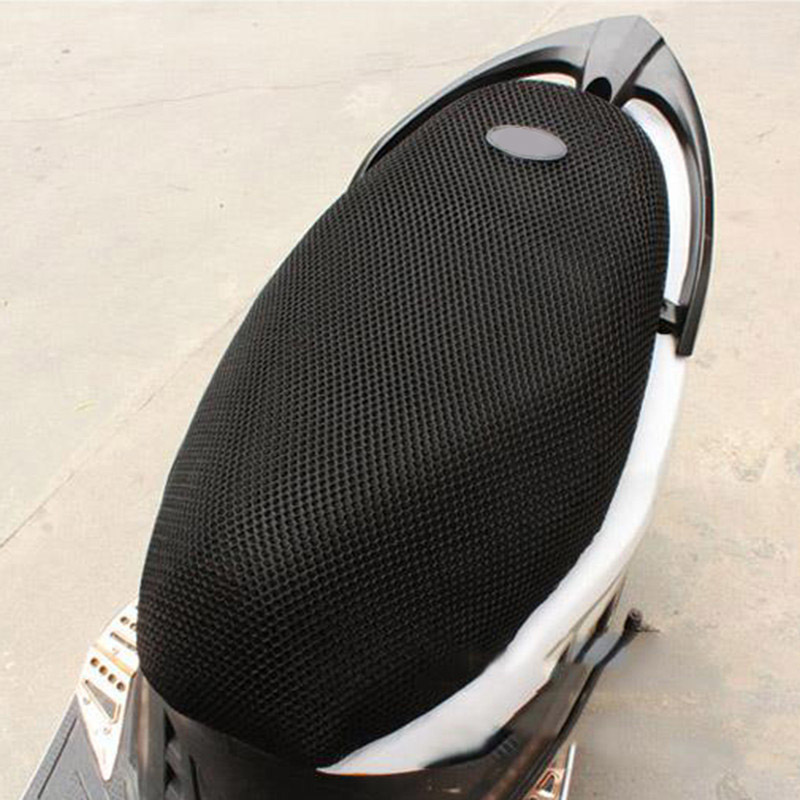Mayitr Comfortable 3D Breathable Mesh Net Scooter Motorbike Moped Seat Cushion Motorcycle M Size Cover