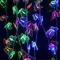 Butterfly Led Lamp 0utdoor Waterproof Led for Garden 220v 5m 28LEDs String lights Wedding light room indoor Decorations for home