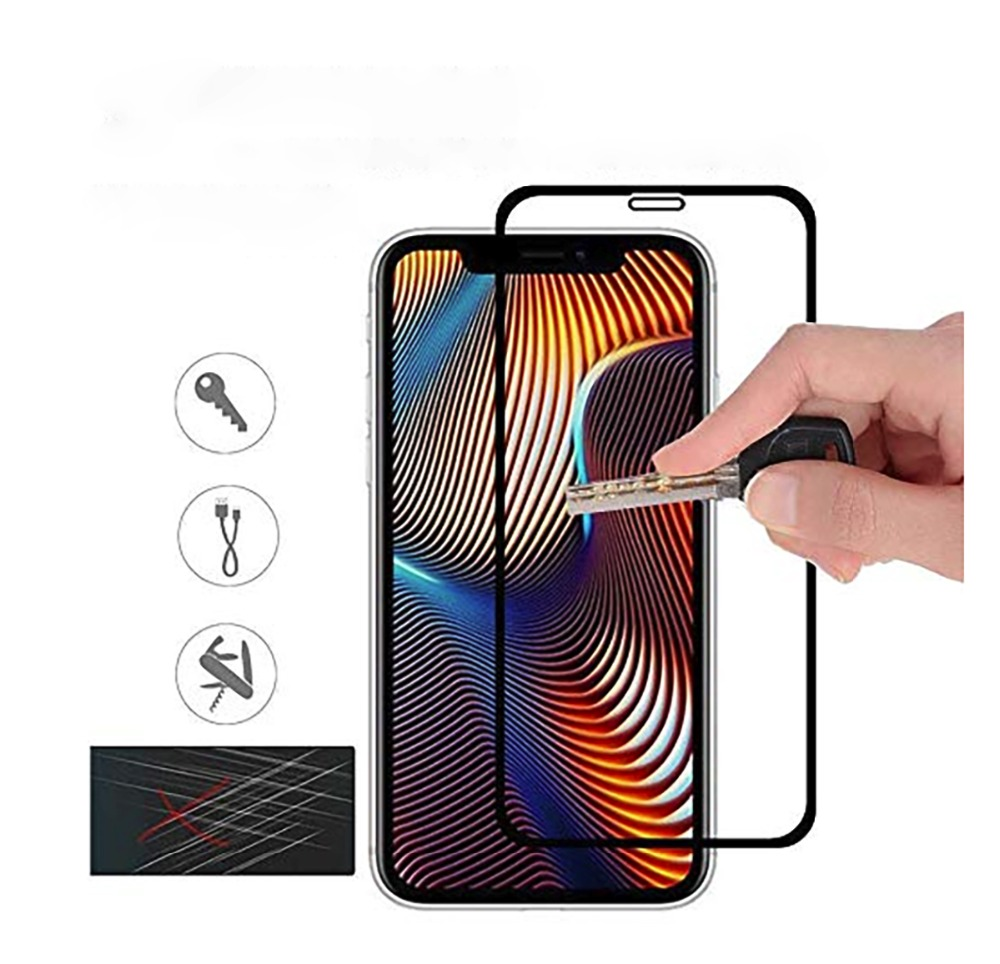 For iphone XR 2018 6.1 inch 2.5D Curved 9H Hardness