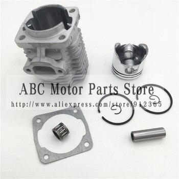 44-6 głowica cylindra do silnika z 44MM zestaw tłoka dla 2 suwowy 49cc Mini motor terenowy Mini atv quad motorynka pierścień tłokowy
