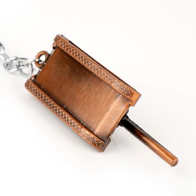 dongsheng World of Tanks WOT Hot Game 3Colors Metal Tank Key Ring Keychain Pendant Gift -50 5