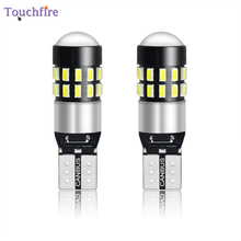 10PCS T10 W5W 194 Canbus Interior Car Bulb 3014SMD 30LED Reading Auto Dome Lamp License Plate Light 12-24V For Truck Wholesale