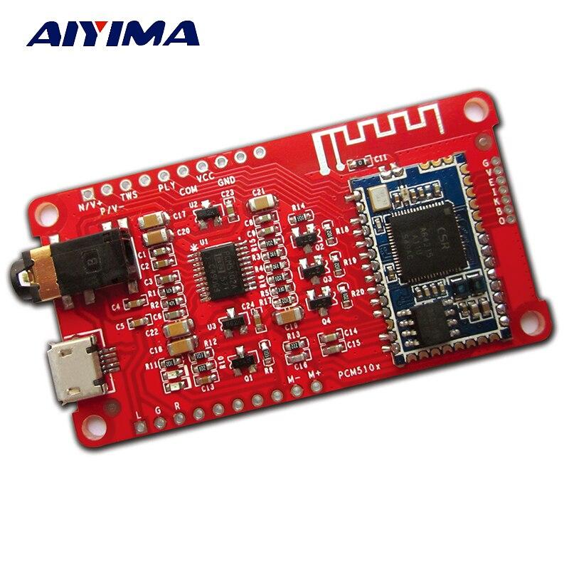Aiyima CSRA64215 + PCM5102A Digitalverstärker 4,0 4,2 Bluetooth HIFI Audio Verstärkerplatine APTXLL I2S Ausgang