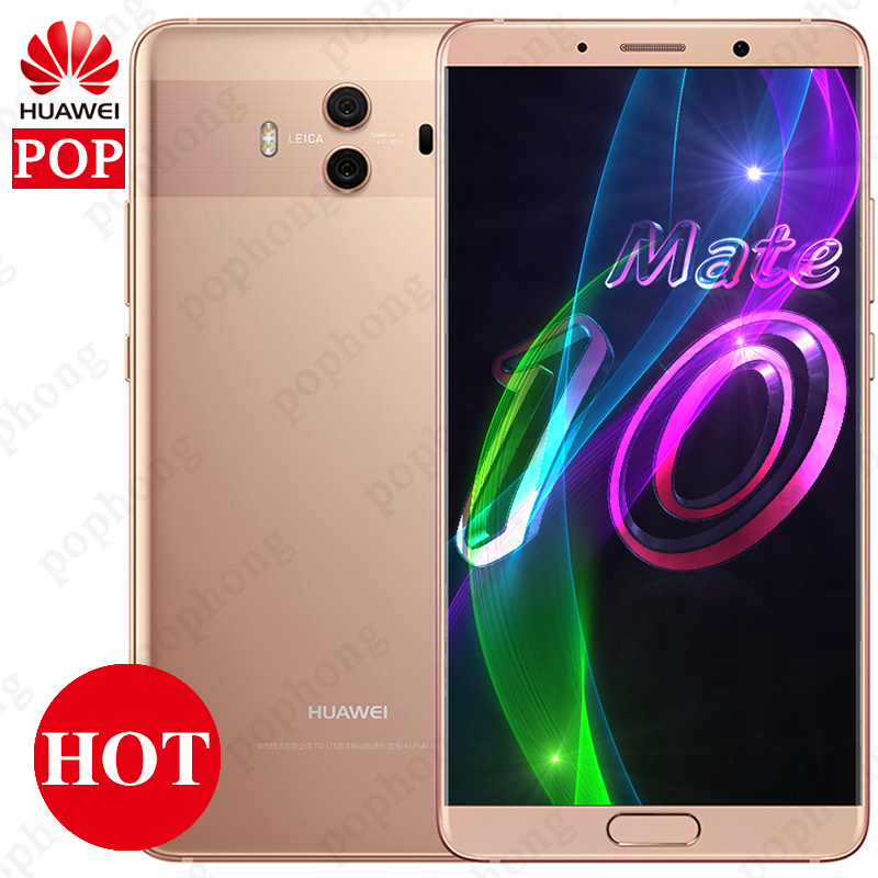 Global Firmware Huawei Mate 10 Android 8 0 Mobile Phone Dual Rear Camera 20MP 12MP 3D