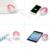 Pisen 7500 mah bateria aquecedor de bolso hand warmer power bank externo multifuncional portátil powerbank para iphone 6 s 7 xiaomi