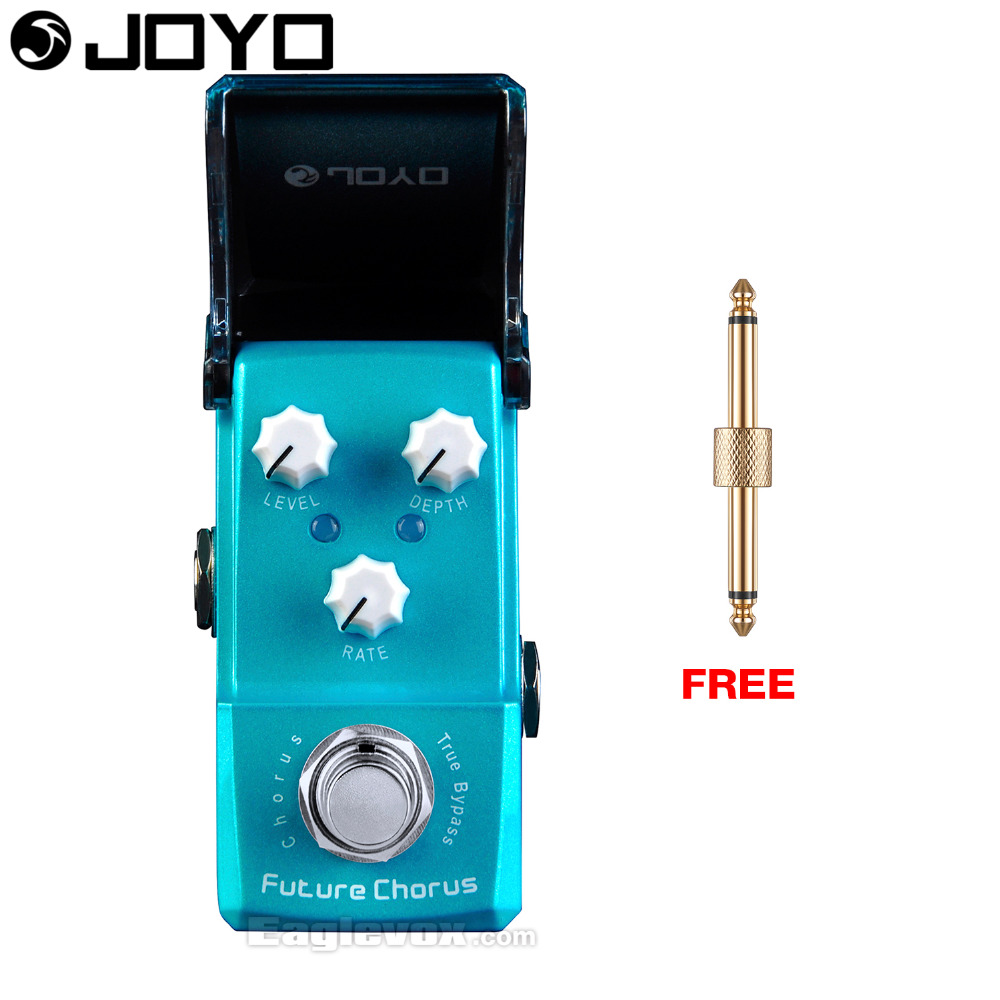 Joyo Ironman Future Chorus Guitar Effect Pedal True Bypass JF-316 with Free Connector mooer ensemble queen bass chorus effect pedal mini guitar effects true bypass with free connector and footswitch topper