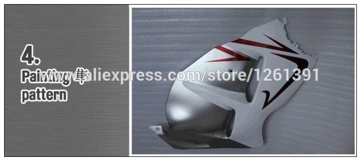 Подходит pre_drilled черные наборы для гостинцев для CBR600 05 06 HONDA CBR600RR 05 06 F5 CBR 600 RR 2005 2006 инъекции Обтекатели# 11Q4V