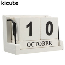 Buy Wooden Perpetual Calendar And Get Free Shipping On Aliexpresscom