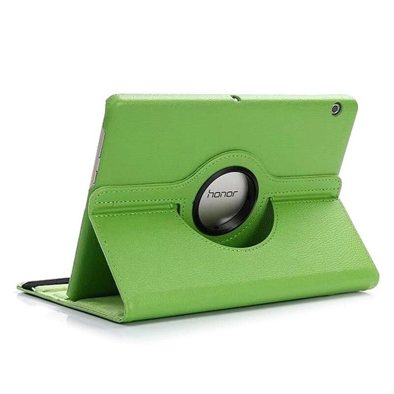 Auto Sleep/Wakeup Rotating PU Leather Shell For Huawei Mediapad T3 10 Honor Play Pad 2 9.6Inch