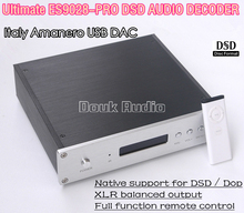Music Hall Latest  ES9028PRO DAC DSD Italy Amanero USB Module XLR Balance Audio Decoder HiFi PCM384 Amplifier