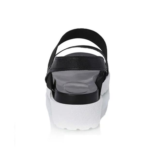 Summer Sandals For Women New Shoes Peep-toe Sandalias Flat Shoes Roman Sandals Shoes Woman Mujer Ladies Flip Flops Footwear Sandals