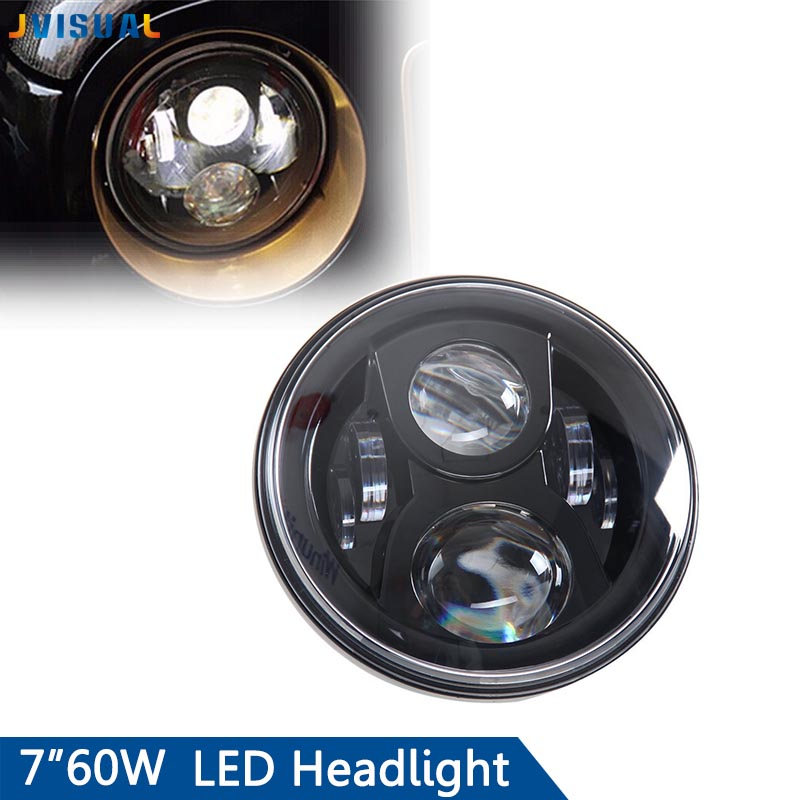 Daymaker Generation 2 LED Head light Harley 7 Led Headlight Motorcycle Motobike Daymaker Projector Headlamp for Harley Bike 7inch motorcycle daymaker replacement led headlight