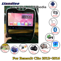 Liandlee 10.2 HD touch For Renault Clio 2017~2019 Auto AC Car Android Radio Player GPS Navi Nav Maps Media OBD Camera no DVD