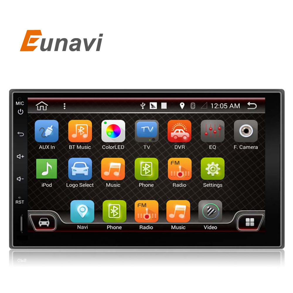 7'' 2 Din Android 6.0 quad core universal double din car radio gps stereo player in dash 2din car pc with wifi bluetooth 2G RAM android 5 1 car radio double din stereo quad core gps navi wifi bluetooth rds sd usb subwoofer obd2 3g 4g apple play mirror link