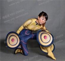 (SM1064)Top Quality Luxury Custom Gogo Tomago Zentai Suits Superhero Halloween Costume