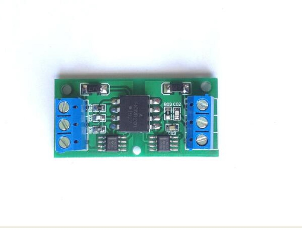 Voltage signal isolation signal conversion module HCNR201 isolation module voltage to voltage module