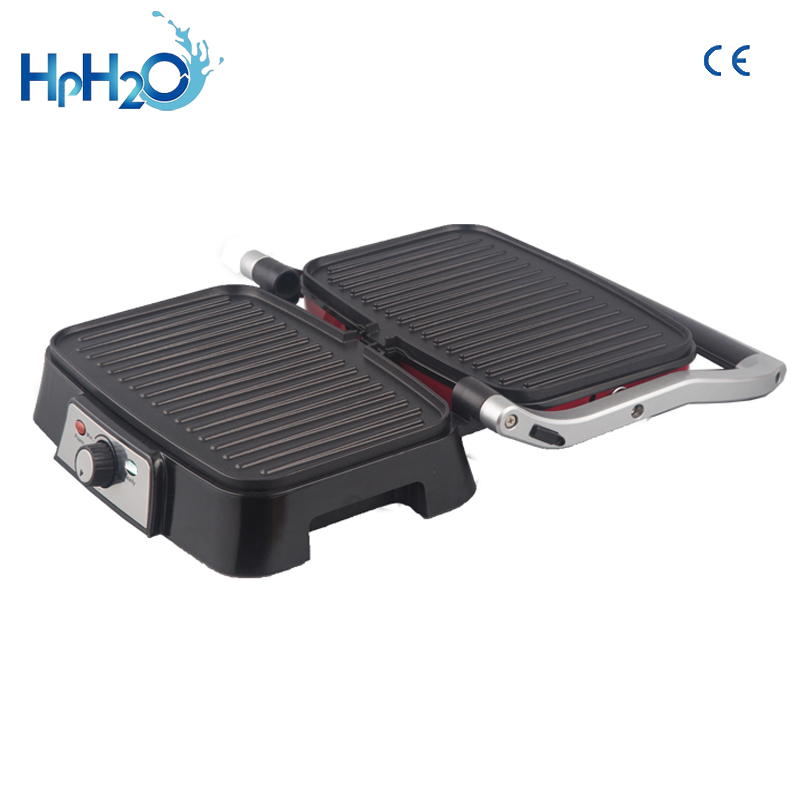CE Approved Household Barbecue Grill Electric Hotplate Pan Smokeless Electric Grill Meat Sandwich Electric  Grilled Pan