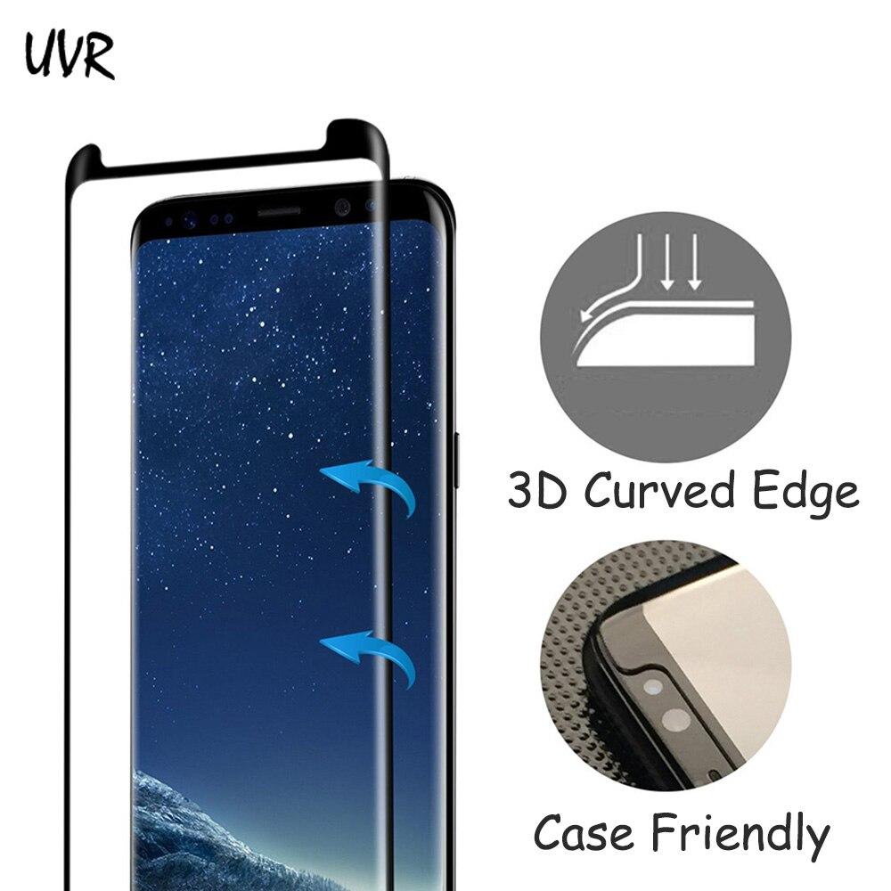 Փոքր տարբերակ 3D Curved Edge Tempered Glass for Samsung - Բջջային հեռախոսի պարագաներ և պահեստամասեր - Լուսանկար 2
