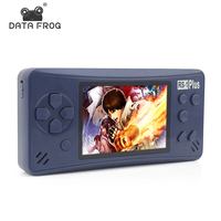 Data Frog 3.5'' Screen Handheld Retro Game TV Output 8GB Portable Video Game Console Player Built In 218 Classic Games For Gift