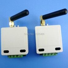 2x433 mhz 1 km Long Distance UART RS485 UART Ricetrasmettitore Wireless modulo RF Dati Porta Seriale Passthrough Board per PTZ Modbus PLC
