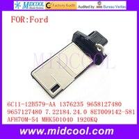 Mass Air Flow Sensor Meter 6C11 12B579 AA 1376235 9658127480 9657127480 7 22184 24 0 8ET009142