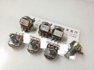 1pcs/lot 148 single joint potentiometer A20K A50K A100K A200K handle 15MM Flower(China)