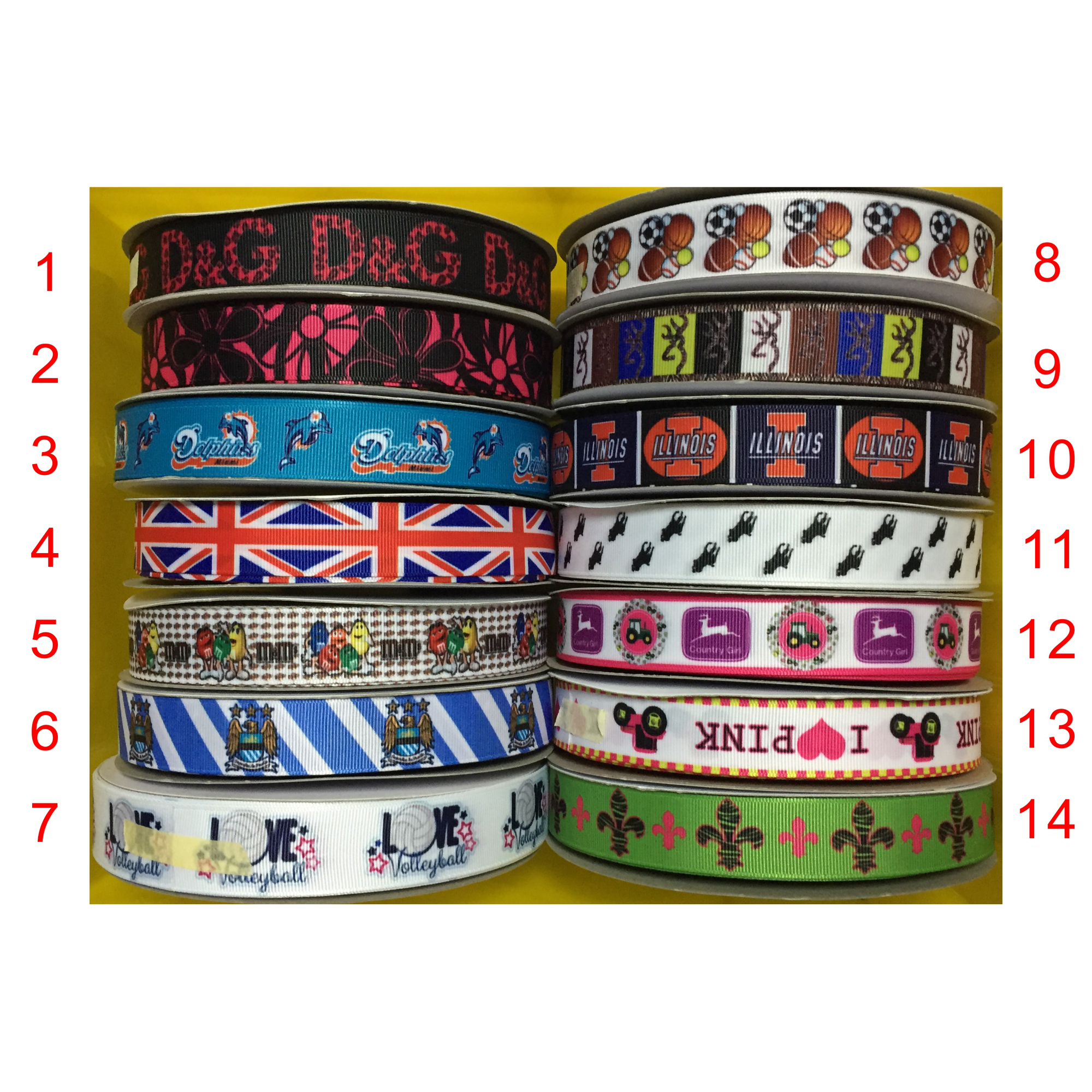 "Grosgrain Happy Birthday with Balloons Ribbon 7//8/"" 22mm"