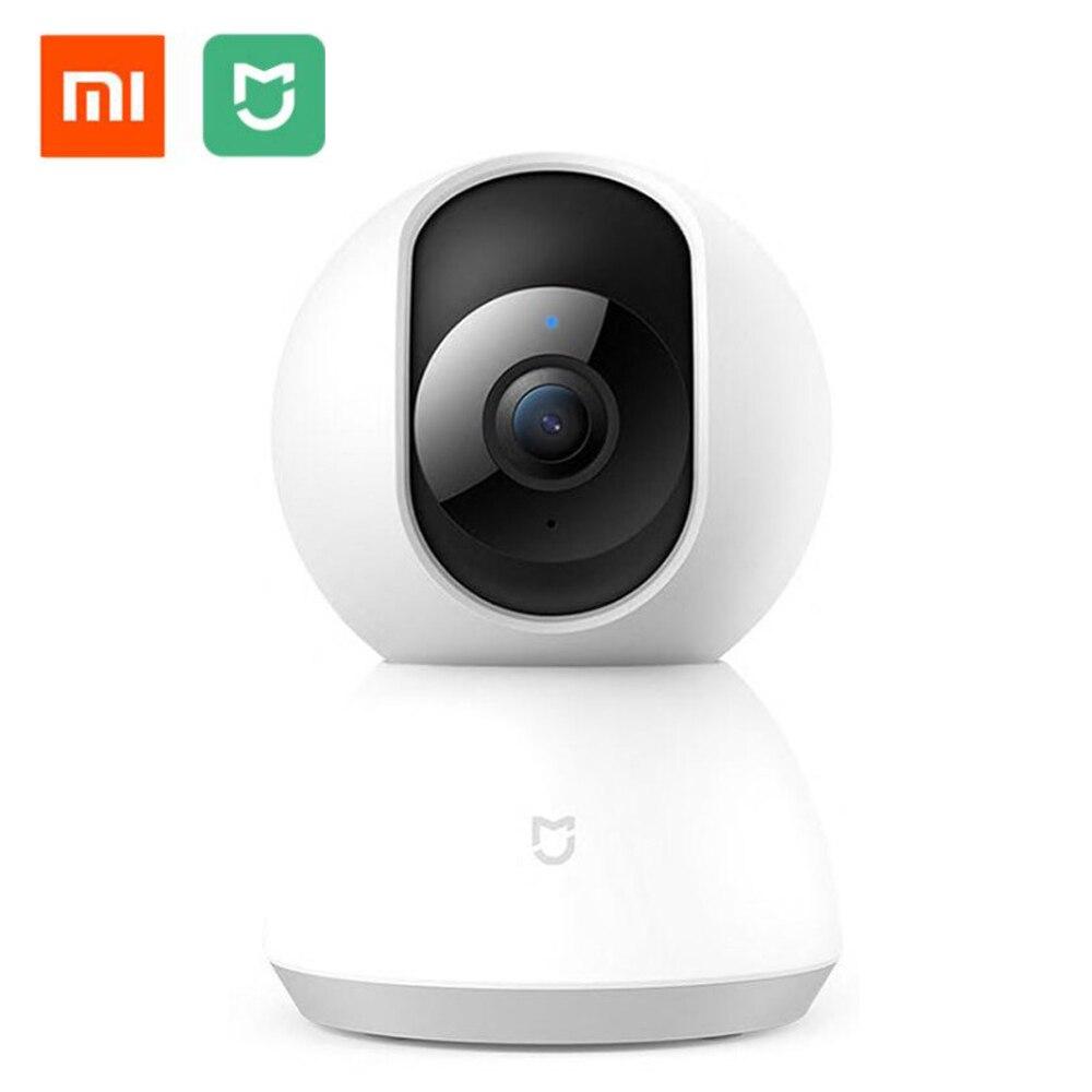 100% Original Xiaomi Mijia caméra intelligente caméra IP caméra Webcam caméscope 360 Angle WIFI Vision nocturne sans fil ia détection de mouvement améliorée