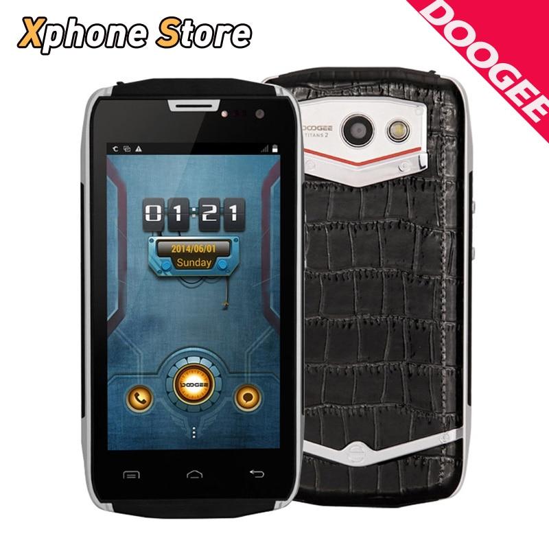 "Original DOOGEE TITANS2 Android 4.4 DG700 8GB ROM 1GB RAM 3G 4.5""SmartPhone MTK6582 Quad Core Suport Dual SIM Google Play Store"