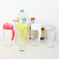 Glass Oil Can Spice Jar Large Capacity Leakproof And Dustproof Food Container Soy Sauce Vinegar Kitchen